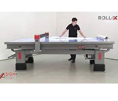 table d'application roll X grafix